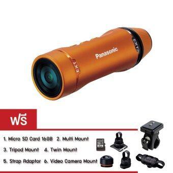 Panasonic กล้องวิดีโอ Action Camera รุ่น HX-A1-D SET Biker