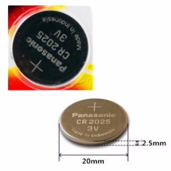 Panasonic ถ่านกระดุม lithium CR2025 (1 แพ็ค 5 ก้อน) (...) - 2