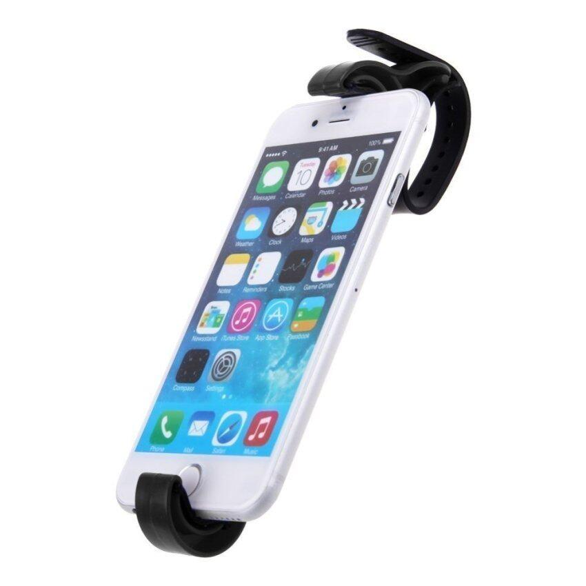 คลิปถือพวงมาลัยรถเข้าอู่ฉลาดโทรศัพท์มือถือจีพีเอส PDA วงเล็บเอฟ (สีดำ)