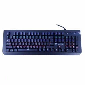 ซื้อ/ขาย PENTAGONZ Terrorblade Mechanical Blue switch Gaming Keyboard - (สีดำ)