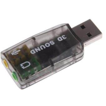 Plug and play Virtual 5.1-Surround USB 2.0 External Sound Card
