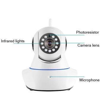 PNP กล้องวงจรปิด IP Carmera 720P 1.3M Wireless Plug and Play(White) (image 1)