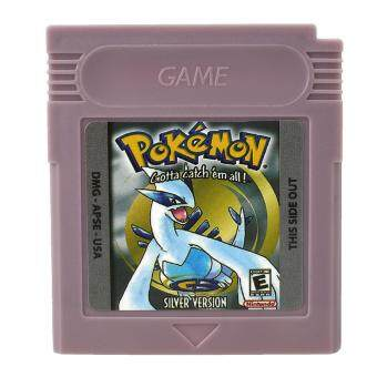 Pokemon GBC Game Card Game Boy Advance GB GBC GBA Game ConsoleSilver Gifts - intl