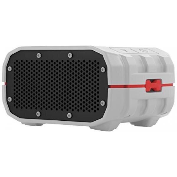 [Portable Speaker] Braven BRV-1 Portable Waterproof Bluetooth Speaker (Grey/Red)