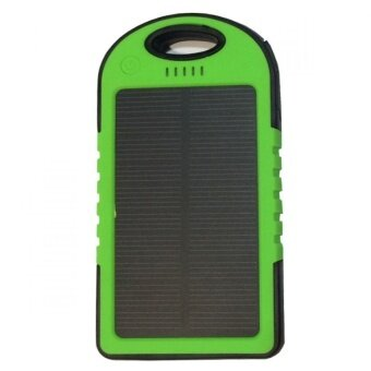 Power Bank Solar Cell 30000 mAh รุ่นกันน้ำ - Green