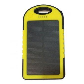 Power Bank Solar Cell 50000 mAh รุ่น กันน้ำ (yellow) ฟรี สาย USB