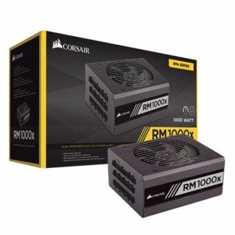 อุปกรณ์จ่ายไฟคอมพิวเตอร์ POWERSUPPLY Corsair 1000W RM1000x 80PLUS Gold(CP-9020094-NA)