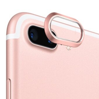 Practical Luxury Aluminum Alloy Rear Camera Lens Protective Ring\nGuard Circle Cover Lens Protector Bumper Case for iPhone 7 Plus\nRose Gold - intl