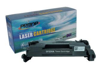Pritop HP CF226A (26A) Black ตลับหมึกเลเซอร์เทียบเท่า