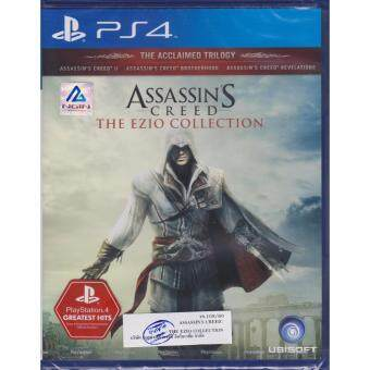 PS4 Game Assassin's Creed The Ezio Collection [Zone 3/Asia]