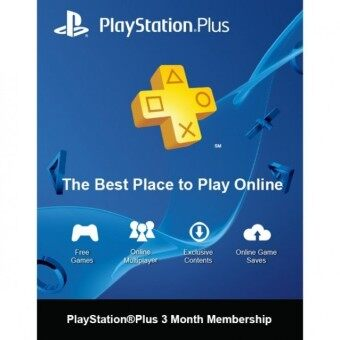 Harga PSN PLUS 3 MONTH [TH]