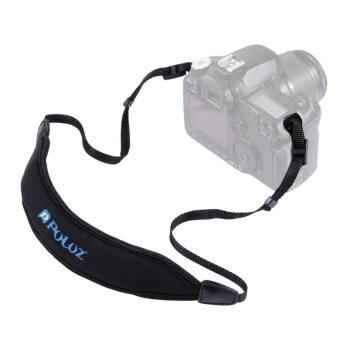 PULUZ Anti-Slip Soft Pad Quick Camera Single Shoulder Sling Neck Strap Black - intl