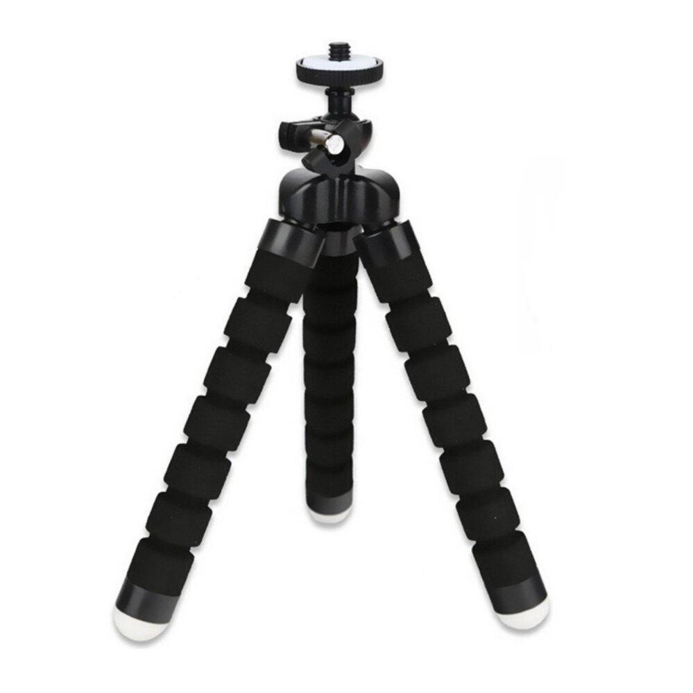 PYM ขาตั้งหนวดปลาหมึก 3 ขา แบบดัดสำหรับตั้งโทรศัพท์มือถือหรือกล้องถ่ายรูป สีดำ จำนวน 1 ชิ้น