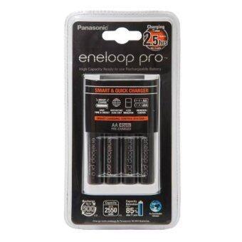 Quick Charger Eneloop Pro พร้อม Eneloop Pro AA 2550mAh 4 ก้อน