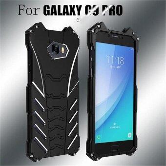 R-JUST Batman Cases For Samsung Galaxy C9 C9 Pro Metal AluminumShockproof Case - intl