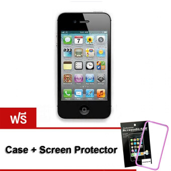 REFURBISHED Apple iPhone 4s 64GB (Black) Free Case+Screen Protect