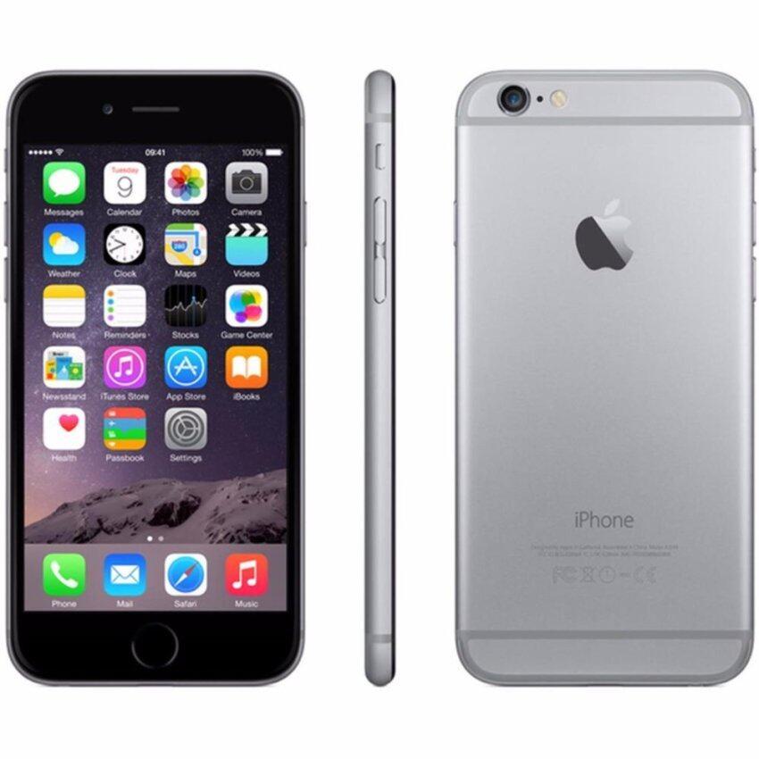 REFURBISHED Apple iPhone 6 16GB (Space Gray) Free Case + ScreenProtector