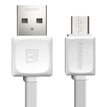 Remax 1M Quick Charge and Data Cable Micro USB for Samsung/Androidรุ่น RC-008m (สีขาว)