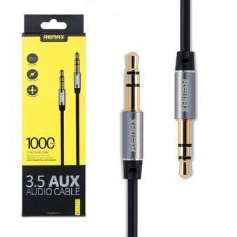 Remax Aux Audio 3.5 2000mm Cable สายยาว 2เมตร (black)