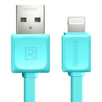 Remax RC-008i Quick Charge and Data Cable สายชาร์จ Lightning foriPhone 5 / 5C / 5S / 6 / 6 Plus / iPad (สีฟ้า)