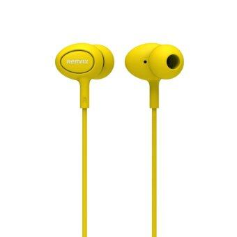 Remax RM-515 Candy Series 3.5mm In-ear Earphone with Mic for iPhoneSamsung LG (Yellow)
