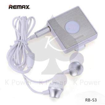 Remax Sport Clip-On Bluetooth Headset รุ่น RB-S3 พร้อมหูฟัง In-Ear(Black) (image 1)