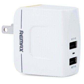 REMAX USB X 2 DC5V 3.4A CHARGER RTM6188 (white)