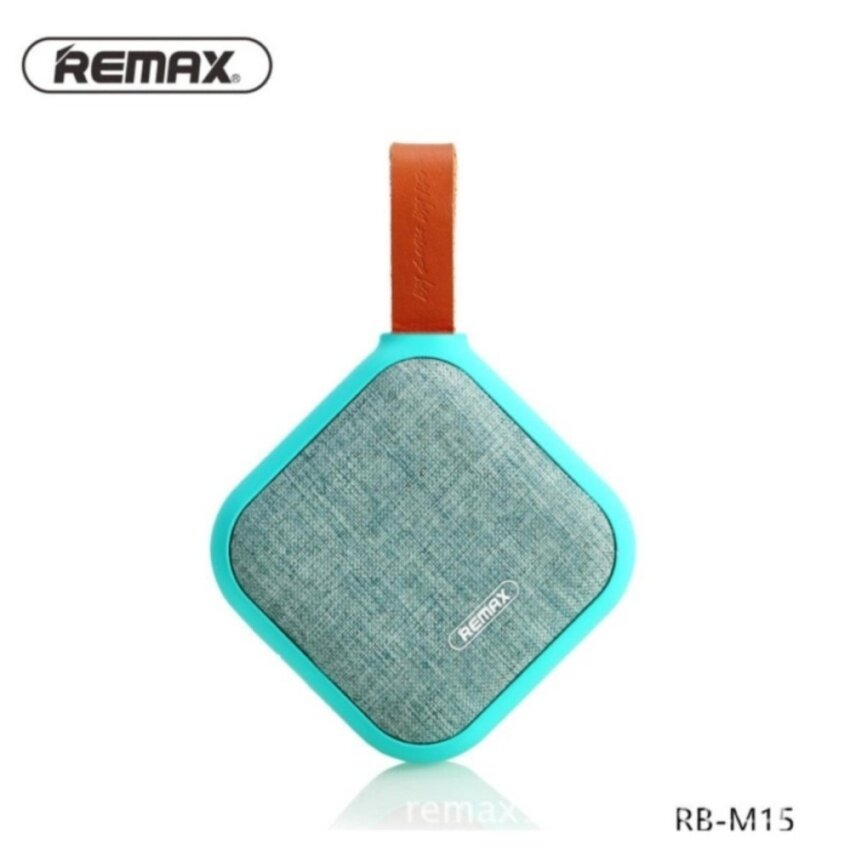 (Remax)REMAX RB-M15 Portable Fabric NFC TF Card IPX5 Waterproof Heavy Bass Bluetooth Speaker - intl