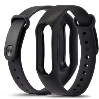 Replace Strap for Xiaomi Mi Band 2 Silicone Wristbands for Mi Band2 Smart Bracelet for Xiao Mi Band 2 - intl