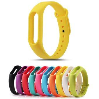 Replace Strap for Xiaomi Mi Band 2 Version MiBand 2 SiliconeWristbands for Mi Band 2 Smart Bracelet 10 Color for Xiao Mi Band 2- intl
