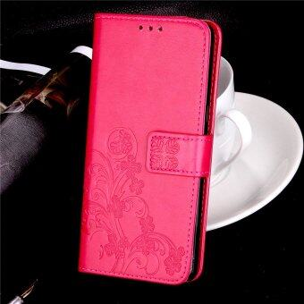 Retro 3D Flowers Embossing Flip PU Leather Wallet Card Holder Casefor OPPO F1s A59 with Stand Holder - intl
