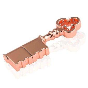 Retro USB stick mini Metal Key pen drive 128GB USB Flash Drive\nWaterproof flash stick - intl