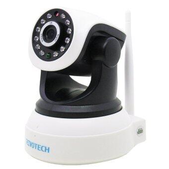 ซื้อ/ขาย REVOTECH IP-CAMERA RT-520N HD 720P Wireless WiFi P2P Onvif 2-way audio (White)