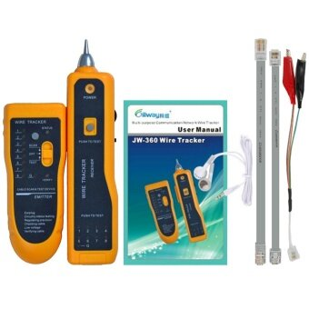 RJ45 RJ11 Telephone Phone Wire Cable Finder Tracker Tracer LAN TV Network Cable Tester Kit -