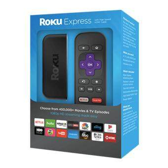 Roku Express | HD Streaming Media Player, includes HDMI Cable - 4