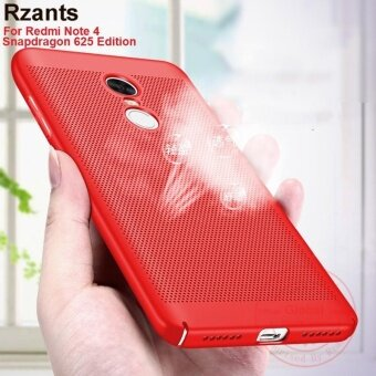 Harga Rzants เคส Redmi Note 4 (Snapdragon 625) Hot Breath Hard Back Case Heat Dissipation Cover - intl