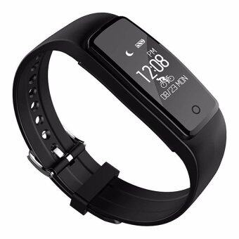Harga S1 Wristband Smart Watch Heart Rate Monitor Bluetooth 4.0Waterproof Fitness Tracker Bracelet For IOS And Android - intl