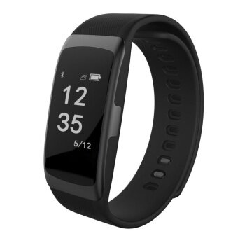 Harga S68 Wristband Heart Rate Blood Pressure Monitor Smart Watch IP68Water Proof Fitness Tracker For Android And IOS Phone - intl