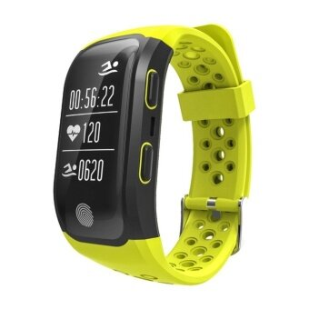 S908 Wristband Heart Rate Monitor Smart Watch GPS Trajectory Tracker Outdoor Sports Waterproof For Android And IOS Phone - intl