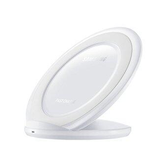 Samsung ที่ชาร์จไร้สายชนิดขาตั้ง Fast Wireless Charger Stand สีขาว ( ของแท้ )