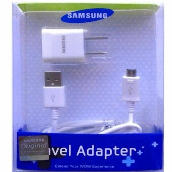 Harga Samsung ชาร์ต+สายGalaxy J1/J2/J5/J7 Micro USB Data Cable + HomeWall Charger (สีขาว)