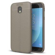 THB 276. Samsung Galaxy J7 2017 / J7 Pro Case , Mooncase [Ultra-Thin] Anti-Scratch Imitation Leather Print Back Cover Premium Matte TPU Protect ...