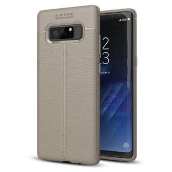 Samsung Galaxy Note 8 Case , Mooncase [Ultra-Thin] Anti-ScratchImitation Leather Print Back Cover Premium Matte TPU Protect Cover- intl