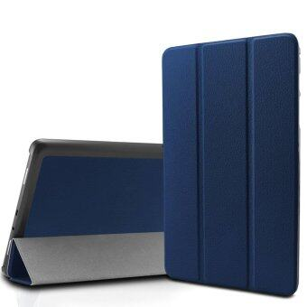 Samsung Galaxy Tab A 8.0 Smart Shell case, Ultra Slim Tri-Fold Casecover for Samsung Galaxy Tab A 8-Inch SM-T350 Tablet (New Version)(Galaxy Tab A 8inch Slim Shell, Navy)(Intl)