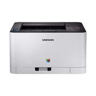 Samsung Laser Color Printer SL-C430W (White)