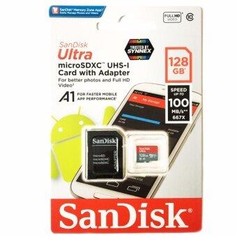 SanDisk 128GB Ultra MicroSDส่งโดยKERRYแท้Synnexประกัน10ปี