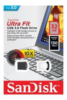 SanDisk Cruzer Ultra Fit 32GB CZ43 USB 3.0 Flash Pen Drive