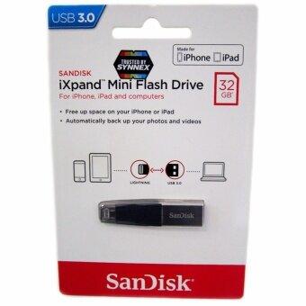 SanDisk iXpand Mini flash drive 32GB for iOS แฟลชไดร์ฟสำหรับ iPhone และ iPad ขนส่งโดย KERRY EXPRESS