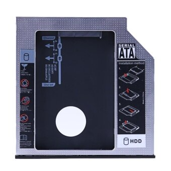 SATA 2nd HDD SSD Hard Drive Caddy for 12.7mm Universal CD / DVD-ROM Optical - intl