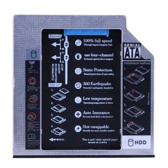 SATA 2nd HDD SSD Hard Drive Caddy for 9.5mm Universal CD / DVD-ROM Optical - intl